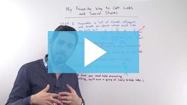 My Favorite Way to Get Links and Social Share