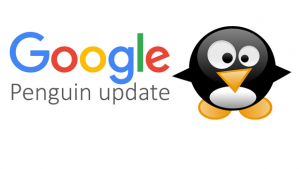 Google Penguin update clean text logo