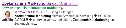 Wouter Blom Author Tag voor SEO/Zoekmachine Marketing